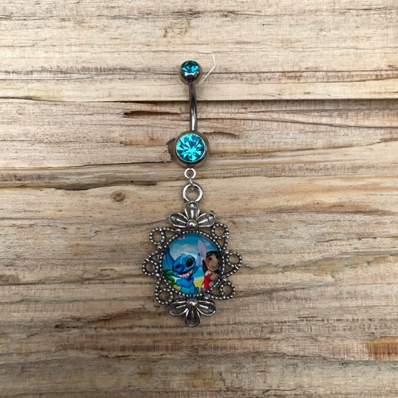 Lilo Stitch Belly Button Ring Boutique